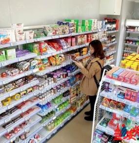 首家无人售货超市亮相街头